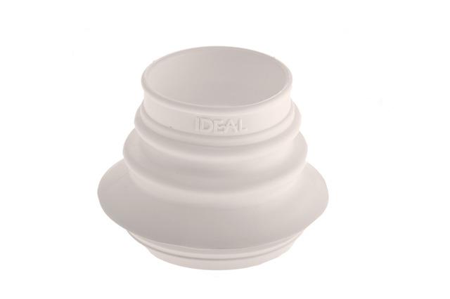 Conexion pvc para inodoro ideal tipo ferrum fuelle larga for Repuestos para mochila de inodoro ferrum