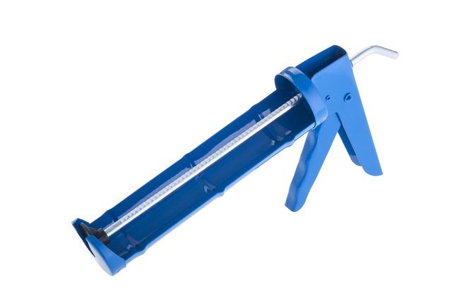 Pistola aplicadora para cartucho silicona estandar jacofer for Pistola de pegamento o de silicona